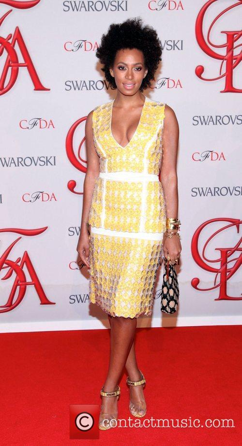 Solange Knowles and Cfda Fashion Awards 2