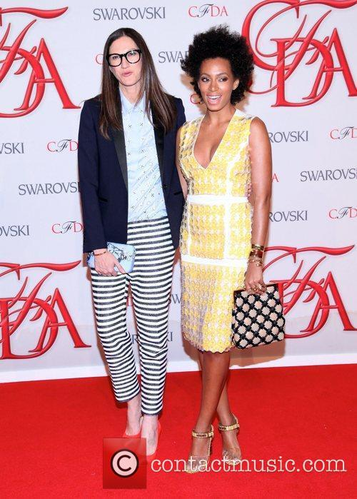 Solange Knowles, Lauren Hutton, Mary-kate Olsen and Cfda Fashion Awards 1