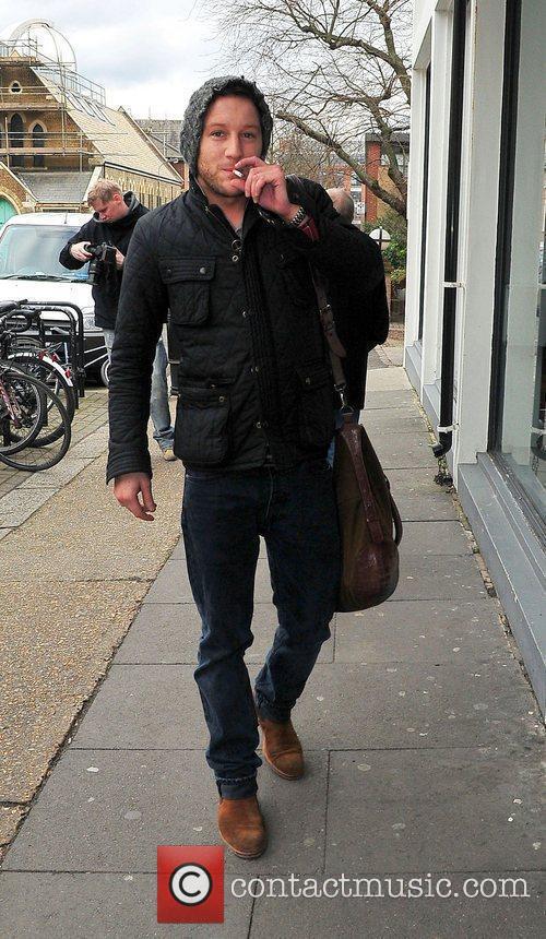 Matt Cardle at Riverside Studios to film 'Celebrity...