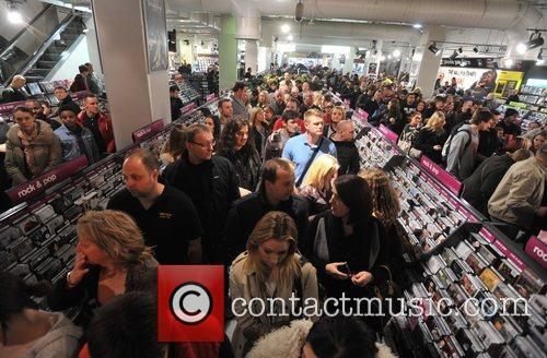 Celebrity Juice DVD Signing