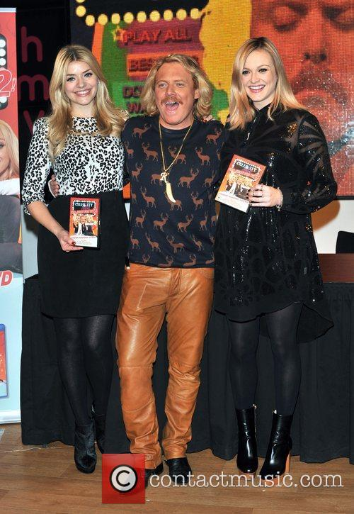 Holly Willoughby, Keith Lemon and Fearne Cotton 1