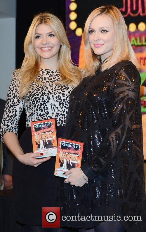 Holly Willoughby, Fearne Cotton, Celebrity Juice