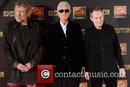 Robert Plant, Jimmy Page, John Paul Jones and Led Zeppelin 6