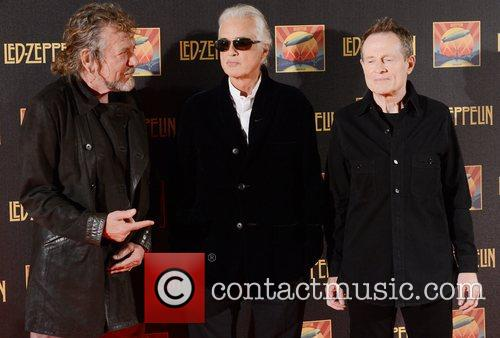 Robert Plant, Jimmy Page, John Paul Jones and Led Zeppelin 1
