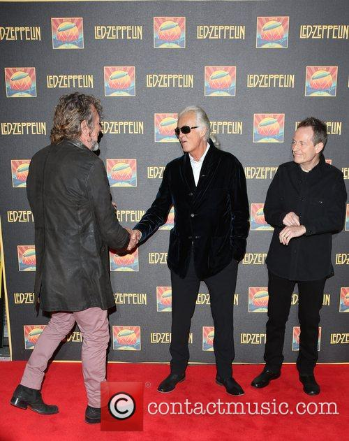 Robert Plant, Jimmy Page and John Paul Jones 9