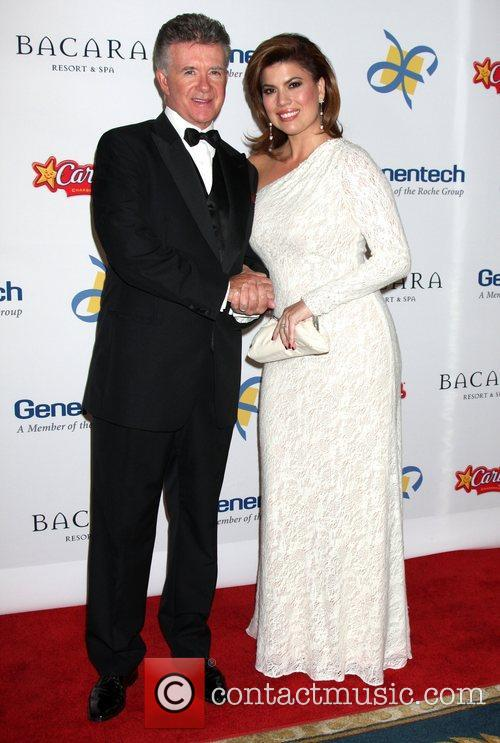 Alan Thicke and Tanya Callau 2