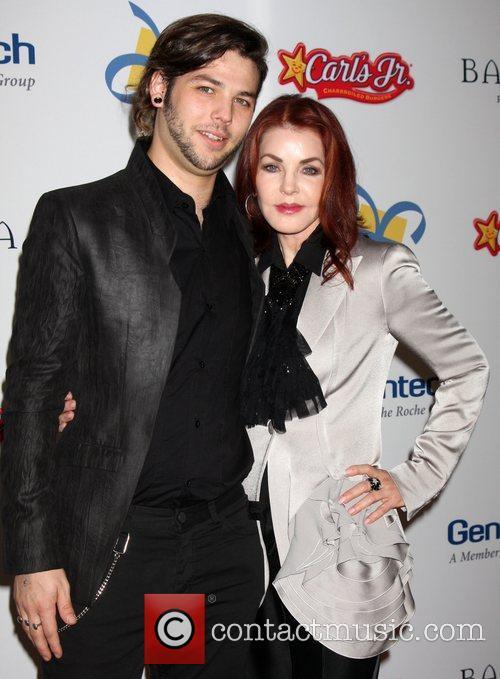 Navarone Garibaldi and Priscilla Presley The Dream Foundation's...