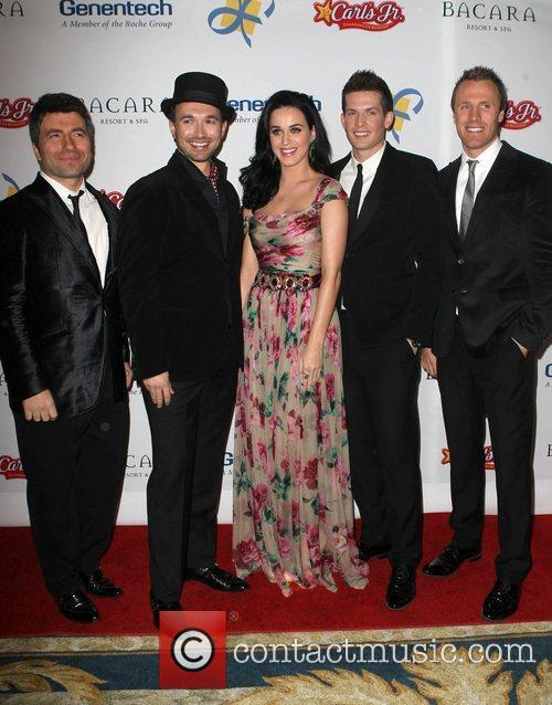 Katy Perry and The Tenors 5