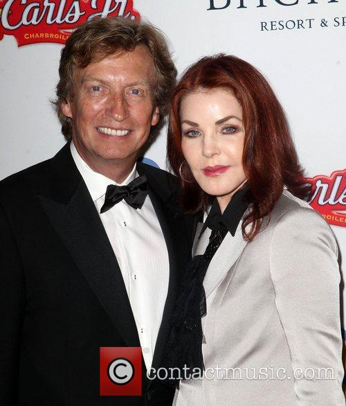 Nigel Lythgoe and Priscilla Presley 5