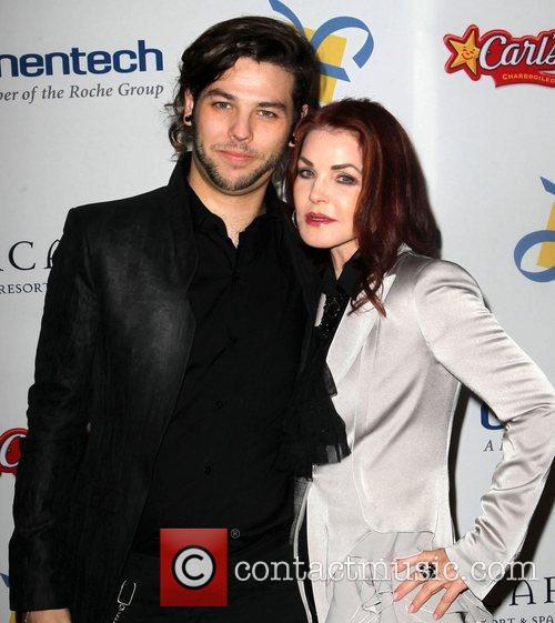 Priscilla Presley with son Navarone Garibaldi  The...