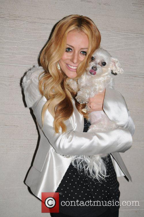 Wendy Diamond and dog Lucky  The 'Celebrity...