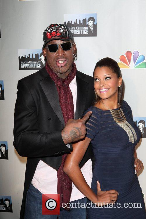 Dennis Rodman and Claudia Jordan 5
