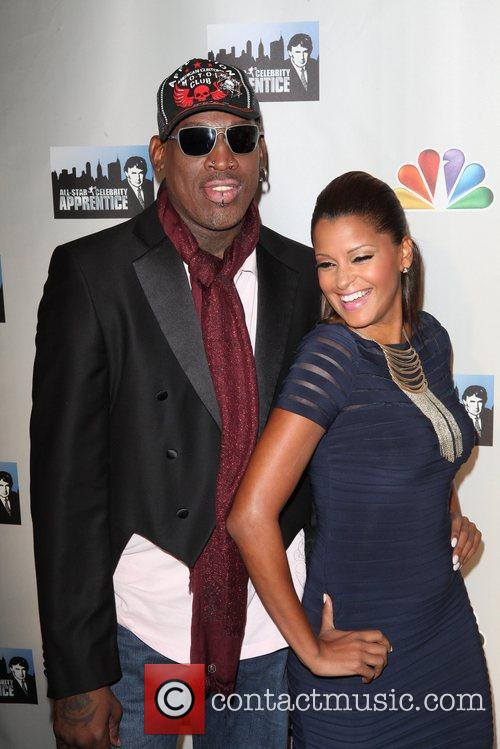 Dennis Rodman and Claudia Jordan 3