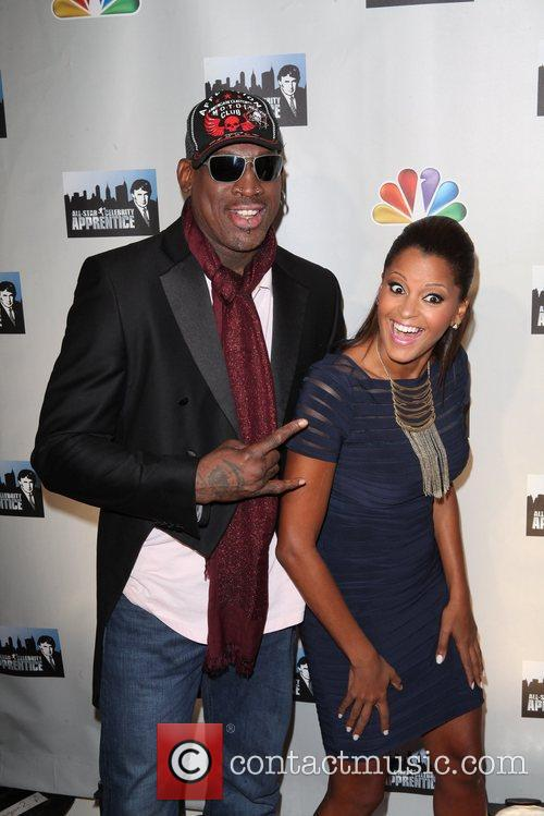 Dennis Rodman and Claudia Jordan 8