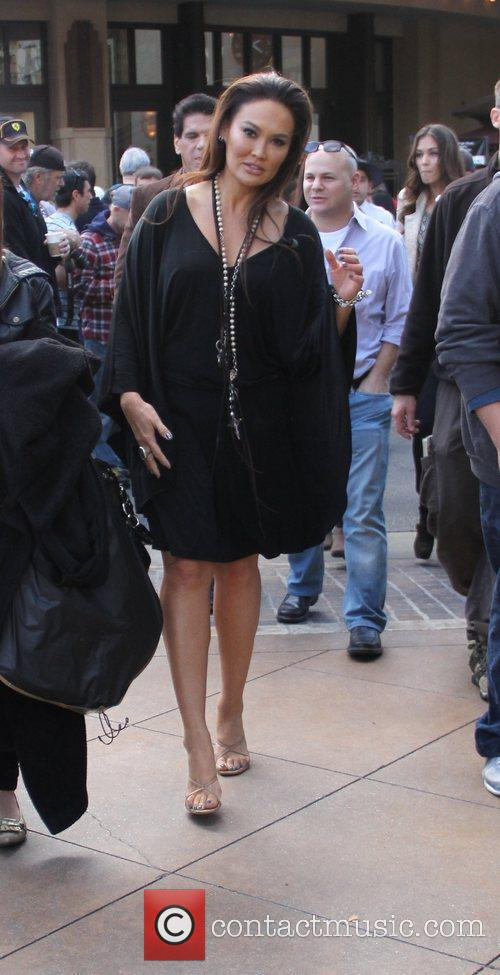 Tia Carrere Members of the new cast of...