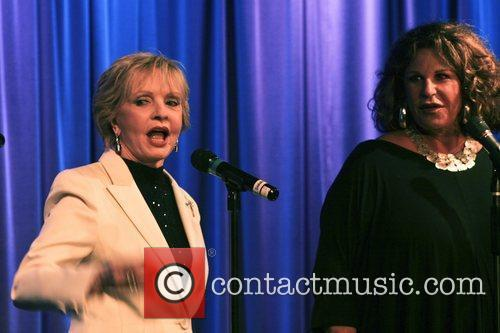 Florence Henderson and Lainie Kazan Celebrities read passages...