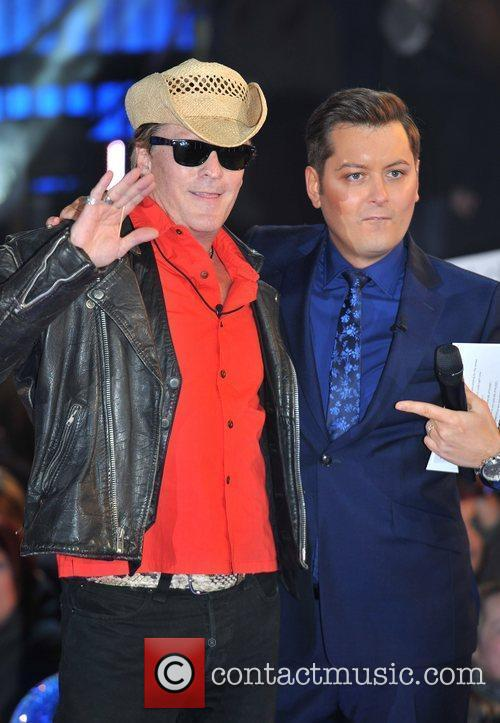 Michael Madsen with host Brian Dowling Celebrity Big...