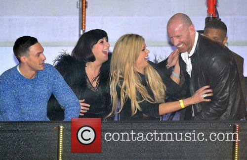 Gareth Thomas, Kirk Norcross, Natalie Cassidy, Nicola Mclean and Elstree Studio 4