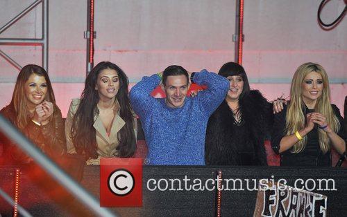 Kirk Norcross, Natalie Cassidy, Natasha Giggs, Nicola Mclean and Elstree Studio 3