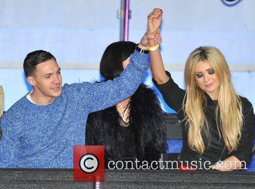 Kirk Norcross, Nicola Mclean and Elstree Studio 4