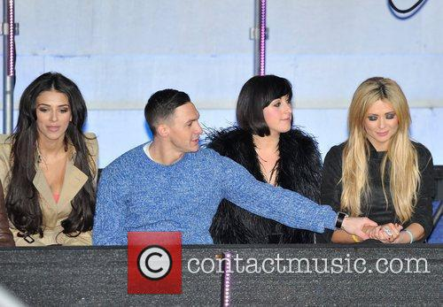 Kirk Norcross, Georgia Salpa, Natalie Cassidy, Nicola Mclean and Elstree Studio 5