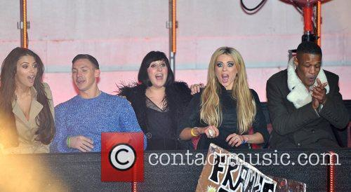 Kirk Norcross, Georgia Salpa, Natalie Cassidy, Nicola Mclean and Elstree Studio 6