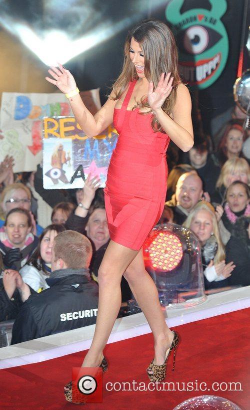 Natasha Giggs Celebrity Big Brother Live Final held...