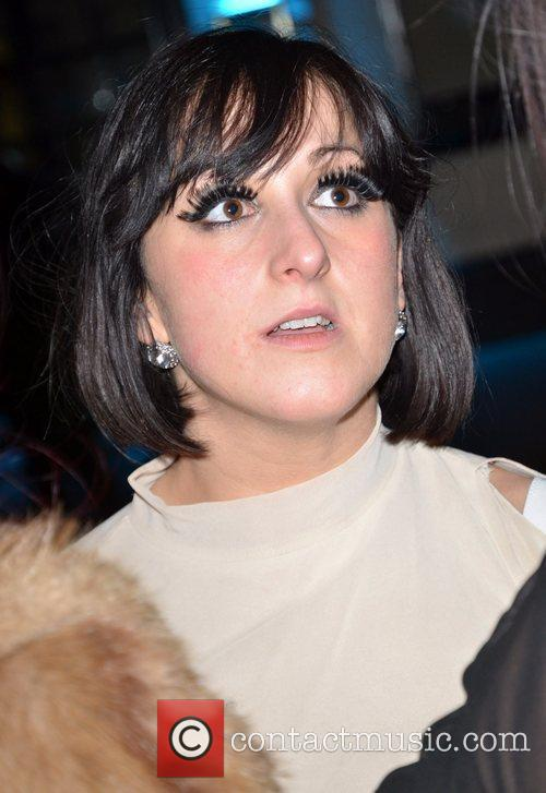 Natalie Cassidy Celebrity Big Brother 2012 re-union party...