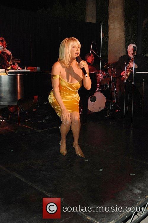 Suzanne Somers performing at the Third Annual Celebrity...