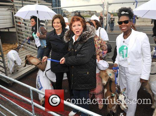 Cherie Blair, Cilla Black and Floella Benjamin 2
