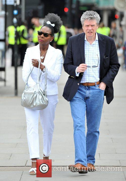 baroness floella benjamin and husband keith taylor international 3959726