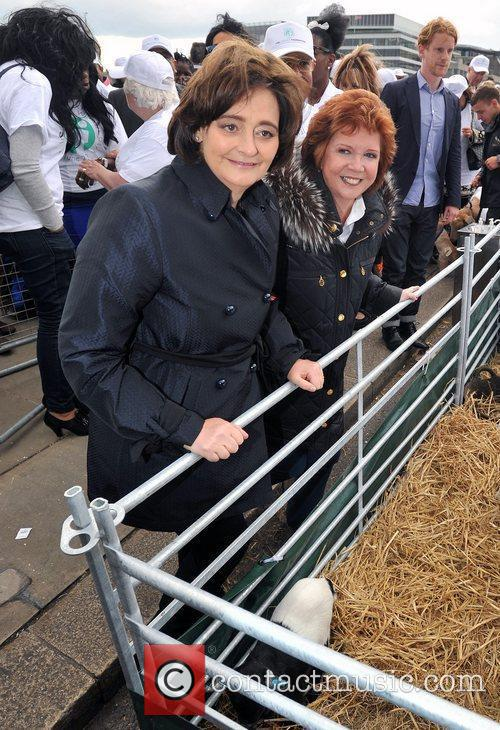 Cherie Blair and Cilla Black 1