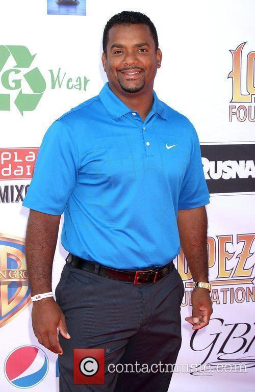 Alfonso Ribeiro, George Lopez and Celebrity Golf Classic 1