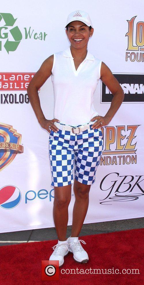 Salli Richardson, George Lopez and Celebrity Golf Classic 2