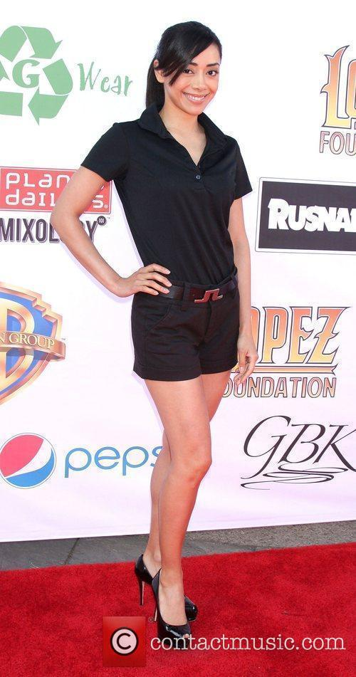 Aimee Garcia, George Lopez and Celebrity Golf Classic 2