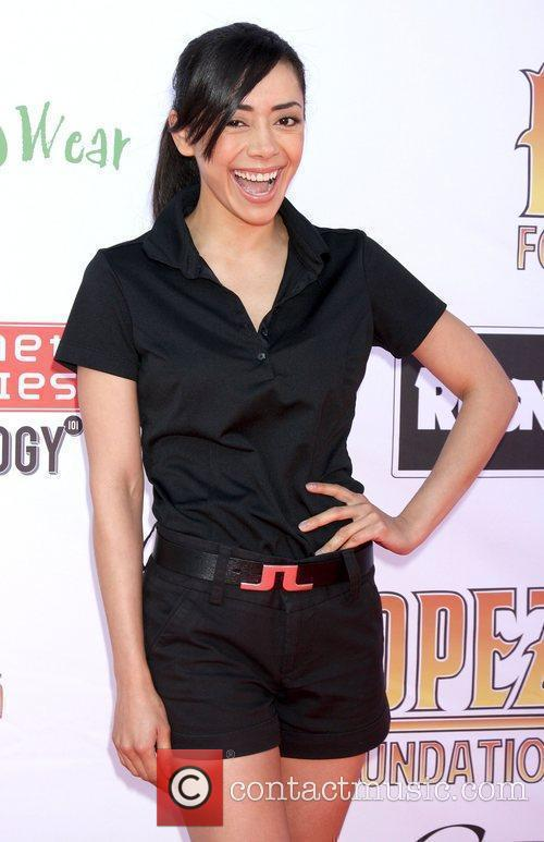 Aimee Garcia, George Lopez and Celebrity Golf Classic 3