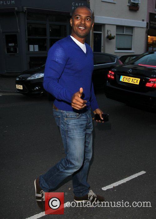 Noel Clarke Celebrities arrive at the Riverside studios...