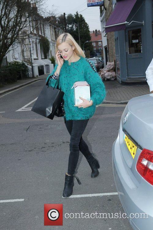 Celebrities arriving at the Riverside studios for the...