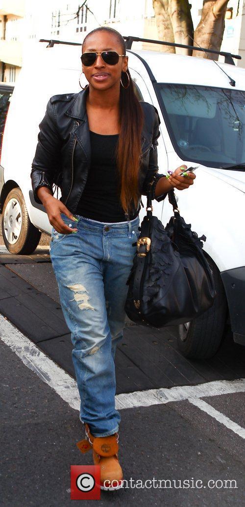 Celebrities arrive at the Riverside studios to film...