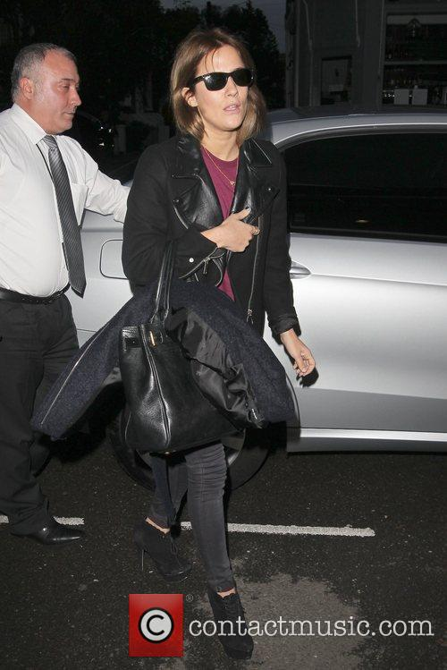 Caroline Flack Celebrities arrive at the Riverside studios...