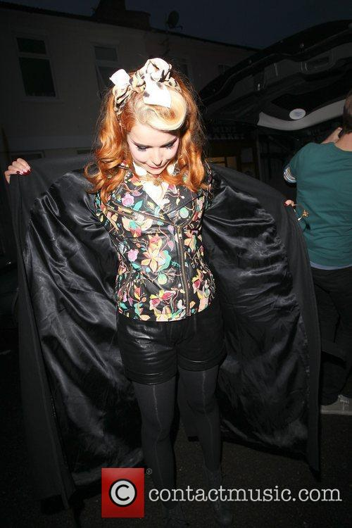 Paloma Faith - Celebrities arrive at the Riverside studios ...