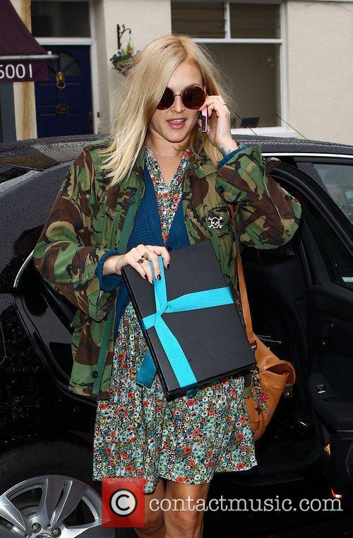Fearne Cotton Celebrities arrive at the Riverside studios...