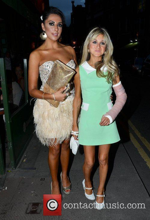 Carol Anthony and Nikki Grahame 2