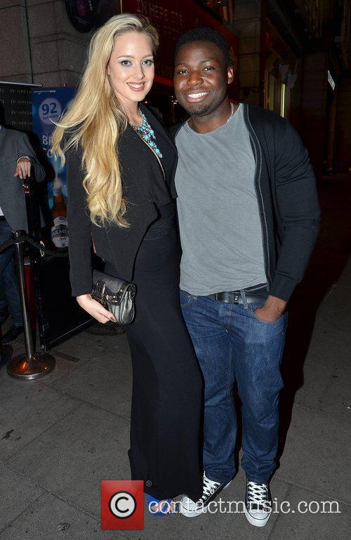 Emma Waldron, Manners Oshafi,  arrive at the...