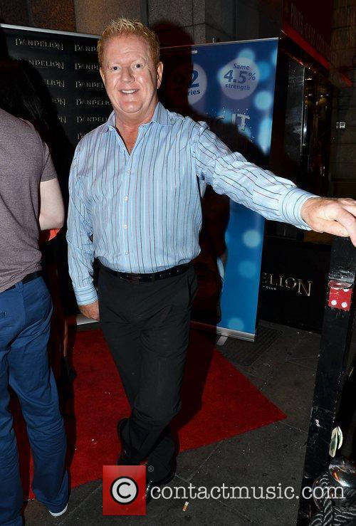 Julian Simmons,  arrive at the launch of...