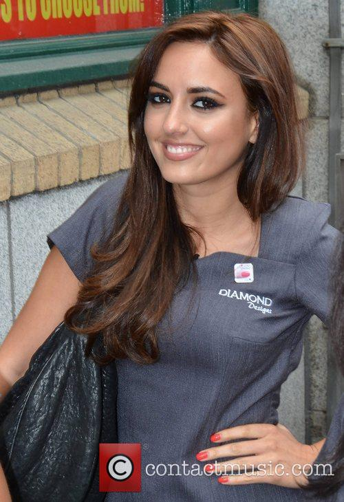 Nadia Forde The contestants of TV3's Celebrity Salon...