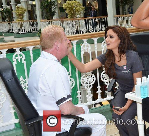 Julian Simmons, Nadia Forde TV3's Celebrity Salon contestants...