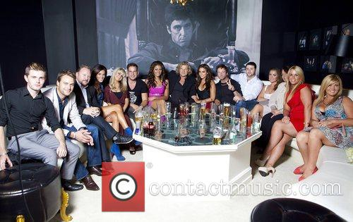 Celebrity Salon Cast with Michael Wright and VIP...