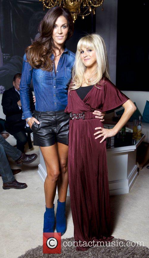 Glenda Gilson, Nikki Grahame Celebrity Salon 2012...