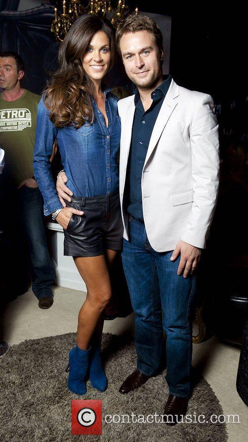 Glenda Gilson, Rob McNaughton Celebrity Salon 2012...